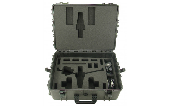 Hardcase with trolley for DJI Inspire 1-3