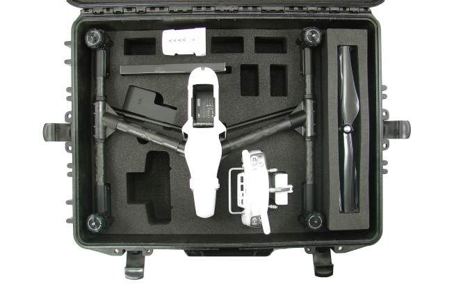Hardcase with trolley for DJI Inspire 1-2