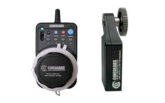 CINEGEARS Single Axis Express Plus Kit with Extreme High Torque Motor-1