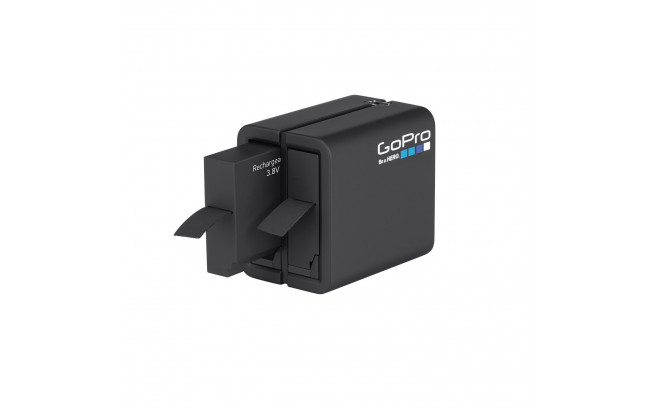 GoPro Dual Battery Charger + Battery for HERO4-1