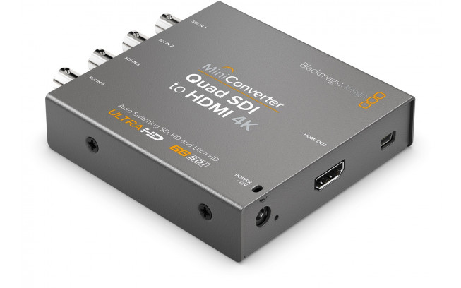 Blackmagic Mini Converter - Quad SDI to HDMI 4K 2-2